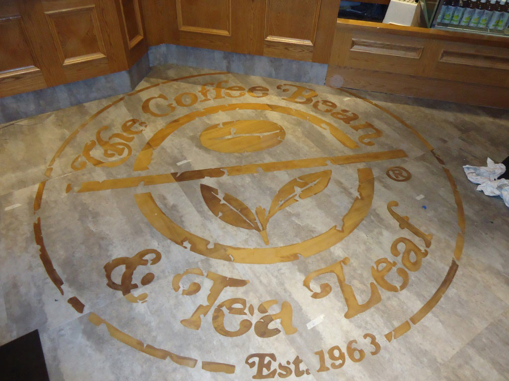 Coffee Bean and Tea Leaf - CBTL - Vinyl Tile